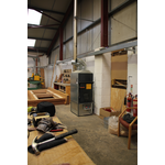 Fabbri F28 installed in a carpenter and joiner's workshop