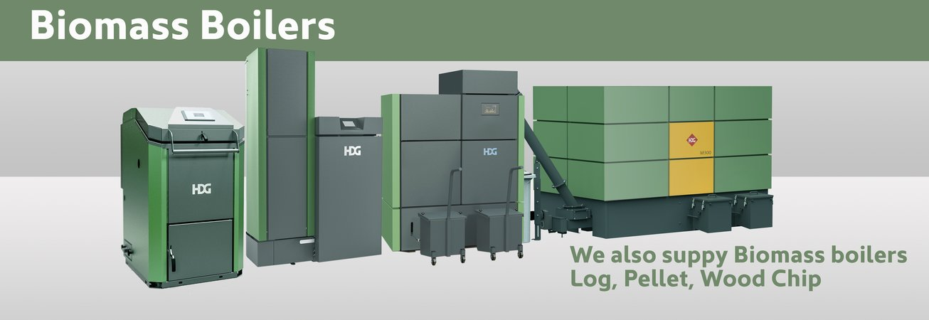 We also supply Biomass Boilers